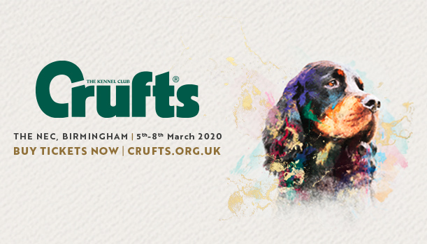 Crufts Olympia banner